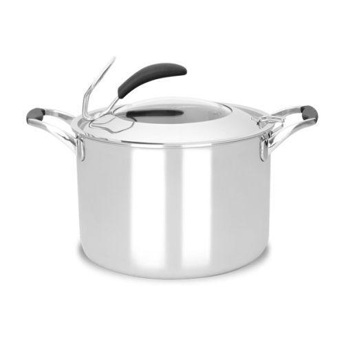 8QT 5PLY Fry Stock Pot